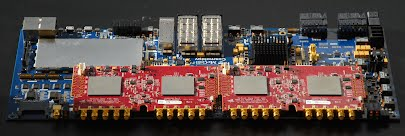 ICE Motherboard with CHIME data acquisition board