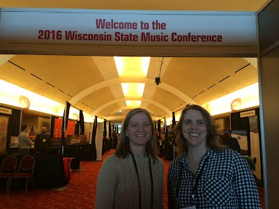 Mrs. Hammes & Mrs. Vanderbloemen attended the Wisconsin State Music Conference on October 27 & 28.