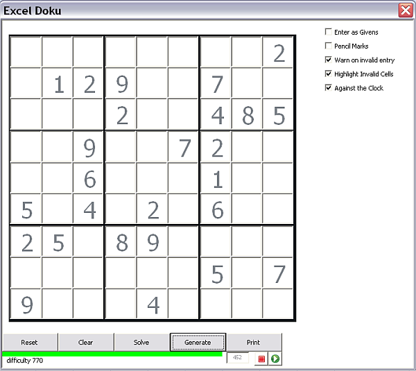 Sudoku Generator and Solver - Desktop Liberation