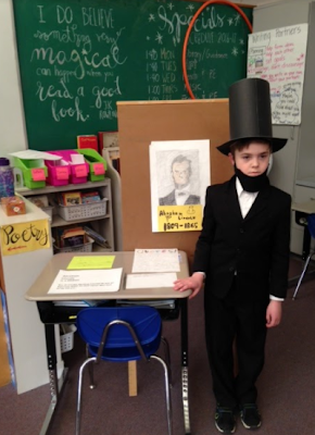 Click on Abe Lincoln to see more photo's from today.