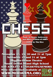 Chess -- Fall Musical 2015