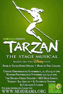 Tarzan - Fall Musical 2016