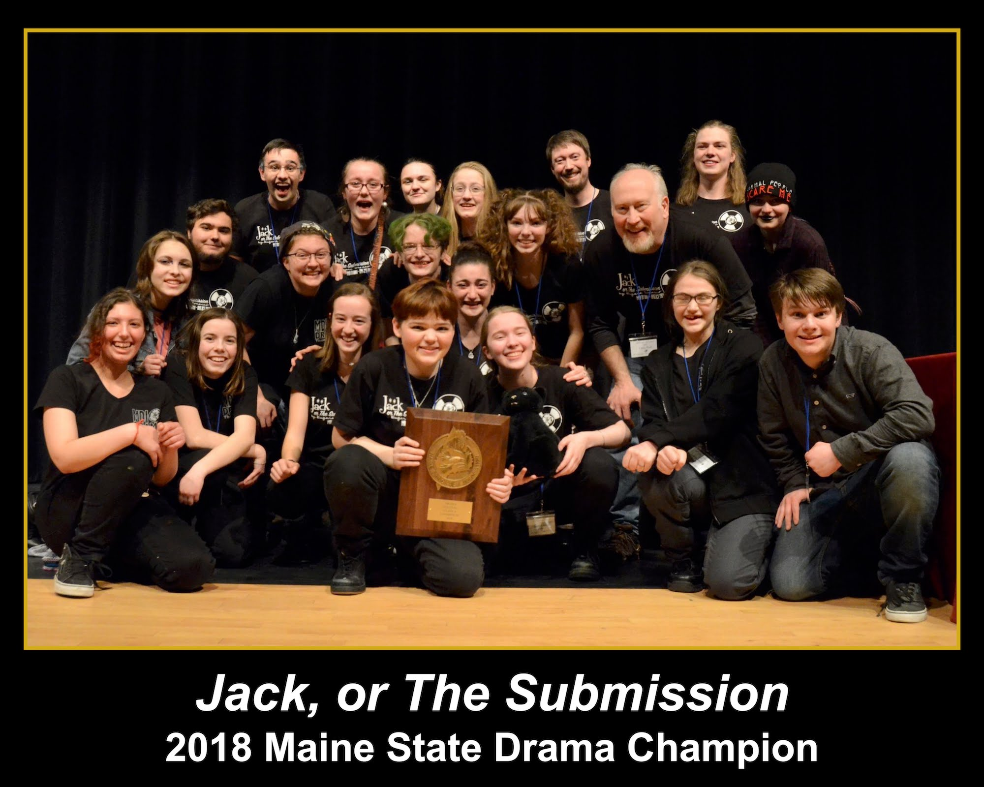 One Act 2018 - 'Jack, or The Submission' by Eugene Ionesco