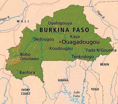 Burkina Faso by Zamir GPS Africa