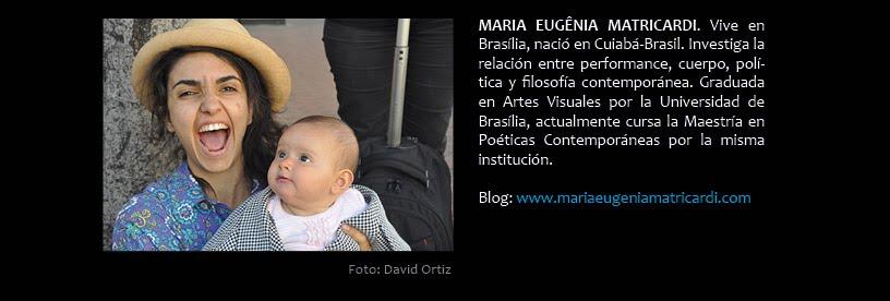 Maria Eugenia Matricardi (en VIVO)