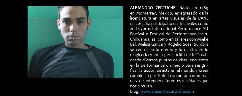 Alejandro Zertuche (en DIFERIDO)