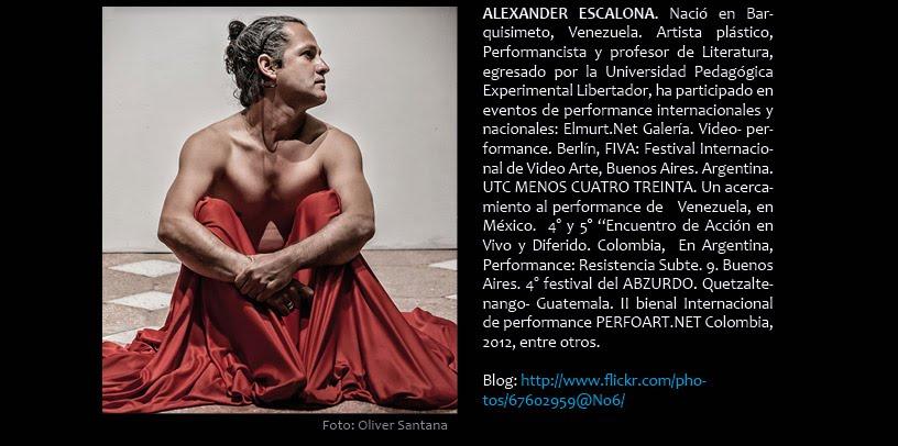 Alexander Escalona (en DIFERIDO)