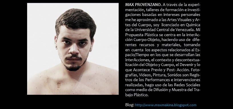 Max Provenzano (en DIFERIDO)