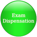 Exam Dispensation