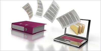 digitizing paper documents image