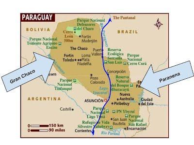 Weather, Maps, and Geography - Welcome to Paraguay