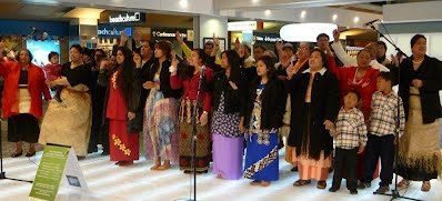 Tongan Choir at Wellington Airport