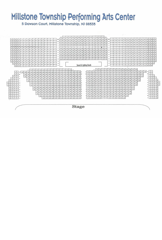 Seating Chart Mpac