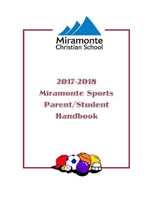 2017-18 Miramonte Sports Handbook