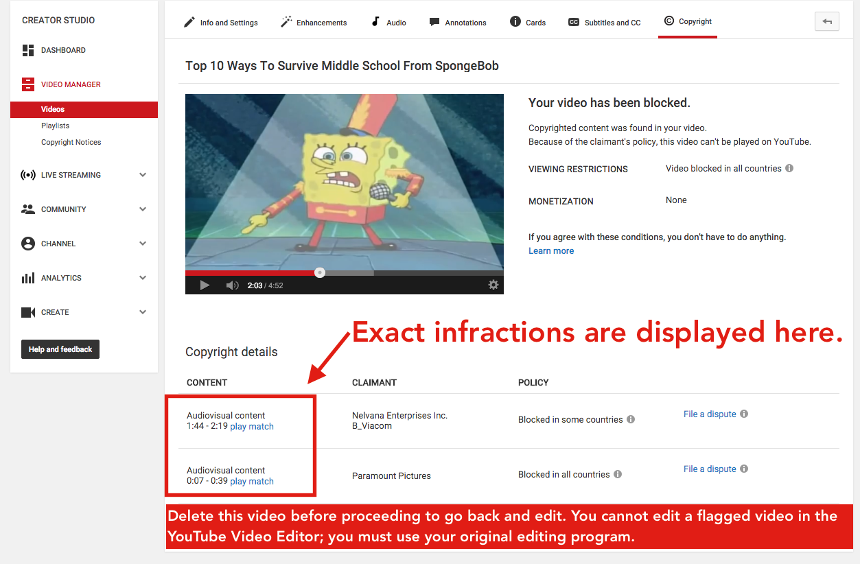 how to watch blocked youtube videos copyright