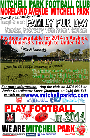 Family Fun Day 2014 Flyer