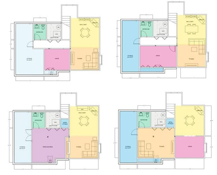 Ideal Our role as your expert advisors is to maximize the design of your space and then explain the pros and cons of each floor plan option