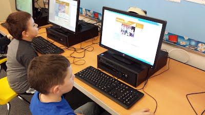 First Grade - K-5 Computer Labs