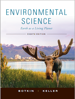 Picture of environmental science text book