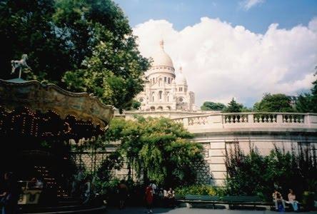 la Basilique de Sacré Coeur - Paris
