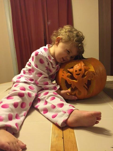 Grace and Pumpkin