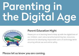 Parenting in Digital Age Flyer