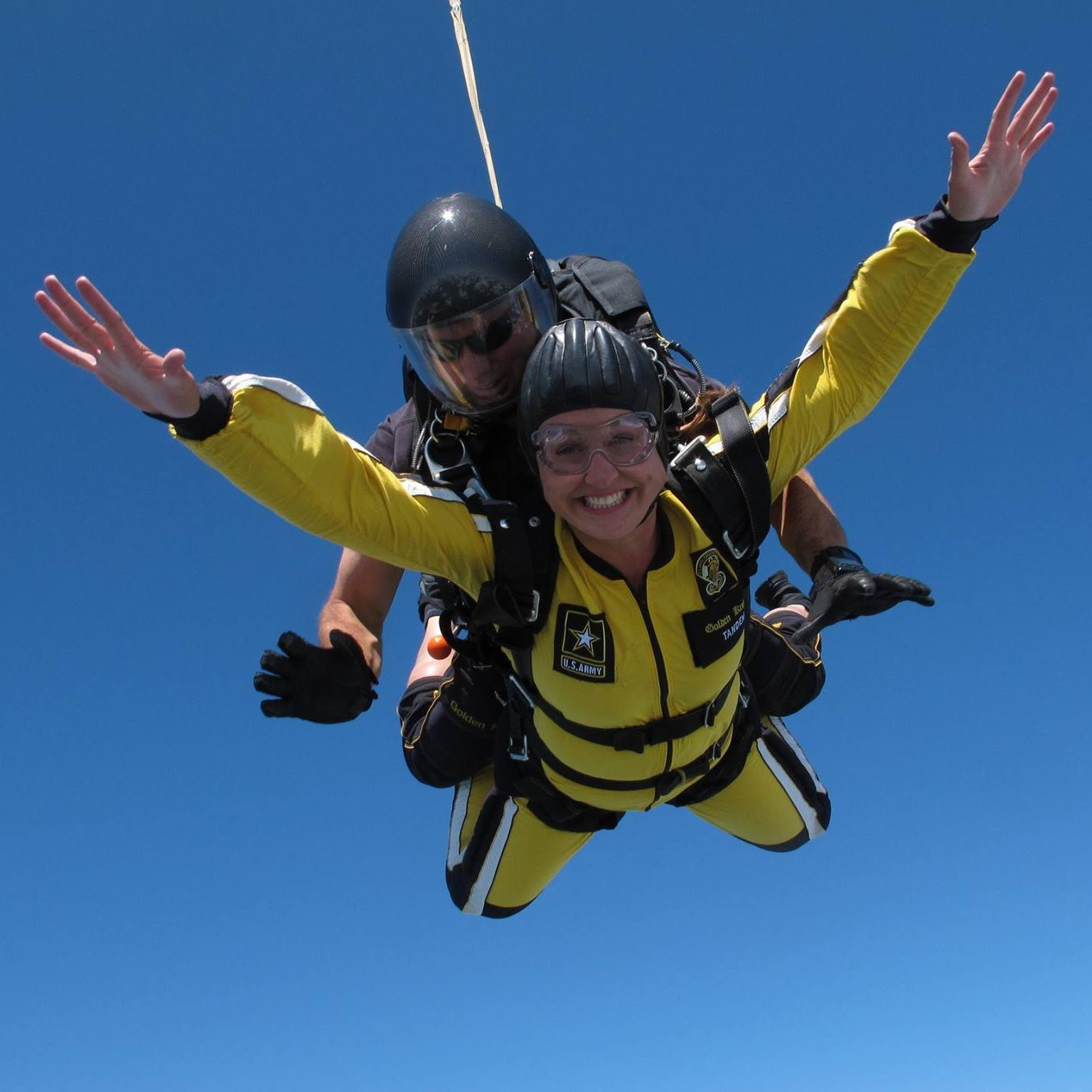 Skydiving with the Army Golden Knights!