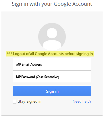 Mp google for education Google sites sign in