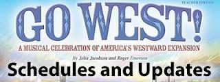 Go West Schedules and Updates