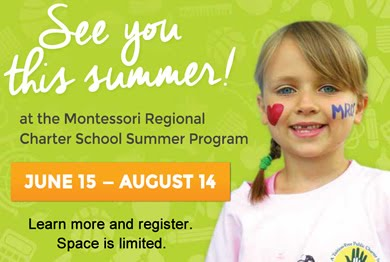 Montessori Summer Camp Program Banner