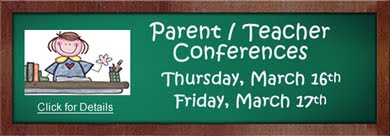 Parent Teacher Conferences March 2017