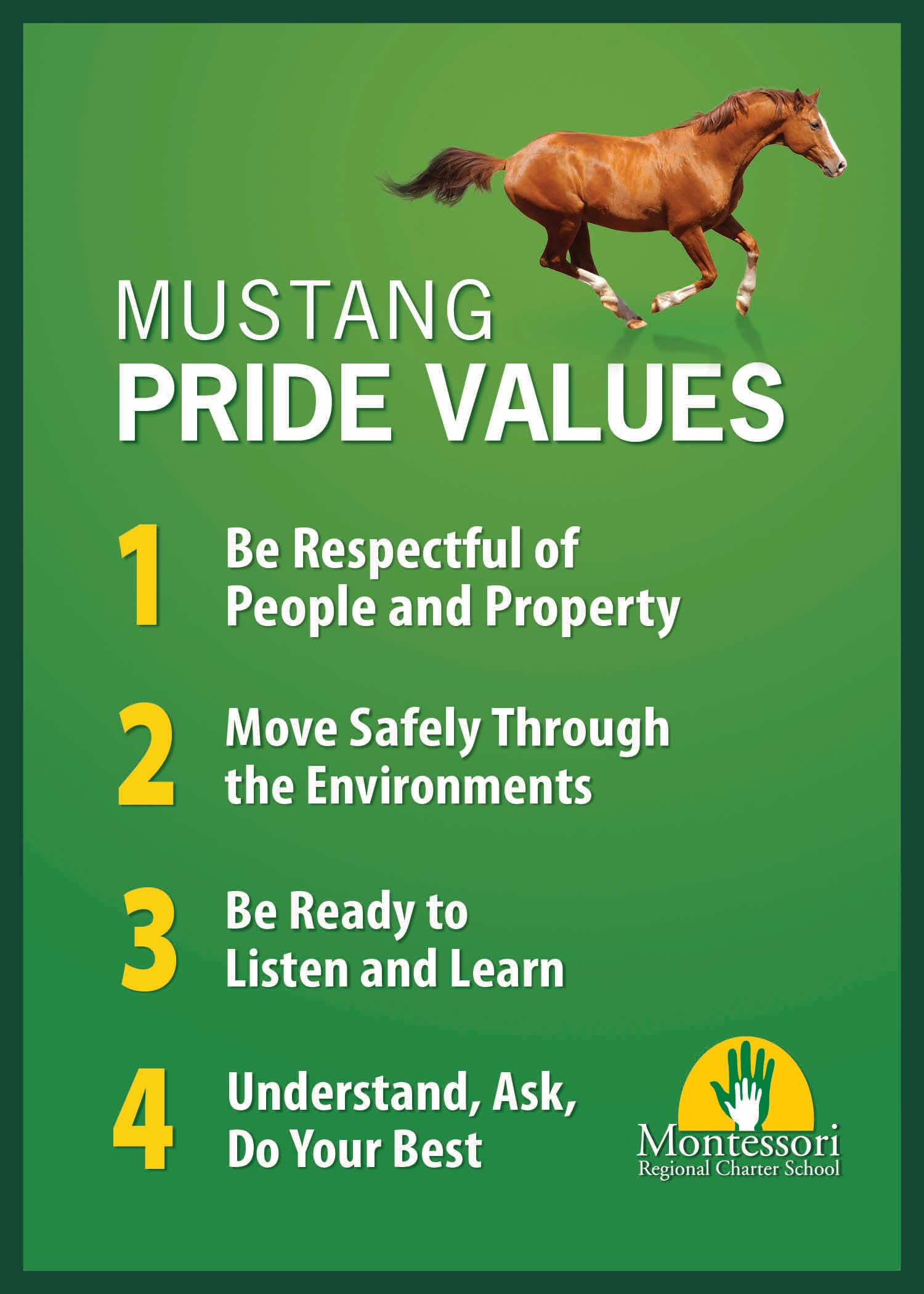 Mustang Pride Values