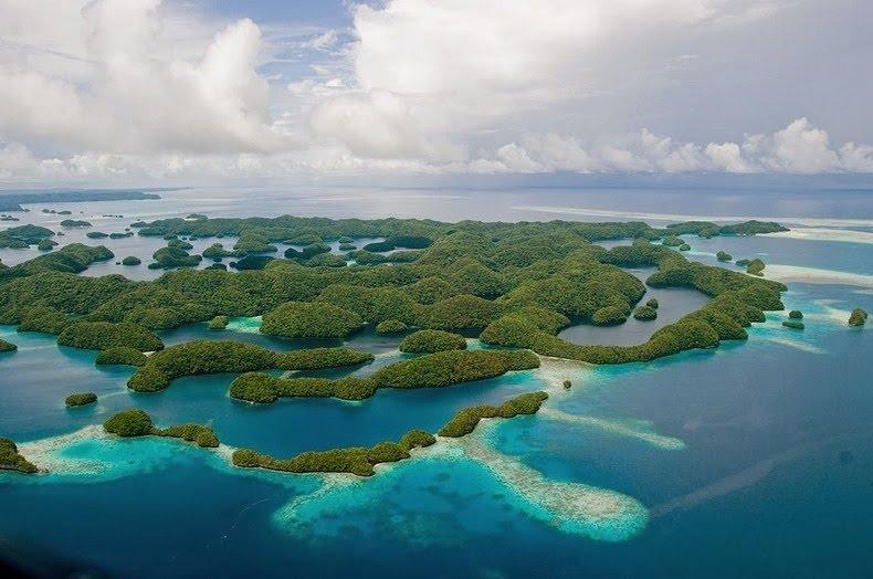 หมู่เกาะ Palau ประเทศปาเลา - สถานที่ที่สวยที่สุดในโลก