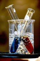 image of test tubes in beaker