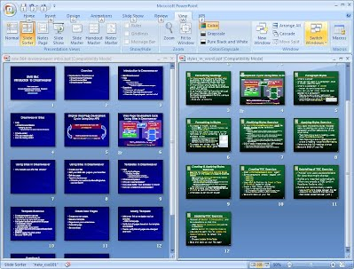 Copying slides from one PowerPoint presentation to another - SME 865 ...