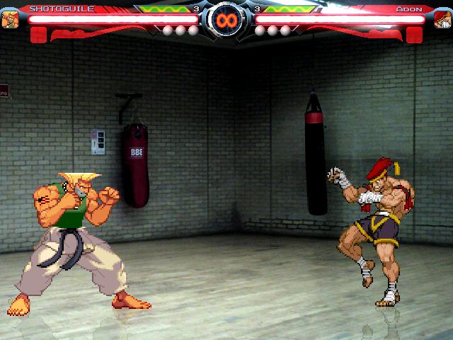 Training Room Stgae Lanzada por DooM Mugen4_4