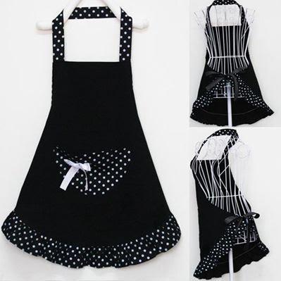 Mundo delas avental lady lovely - Modelos de delantales de cocina ...