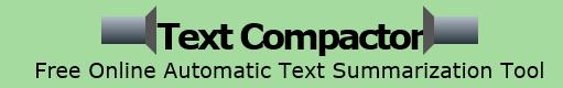 Text Compactor Logo