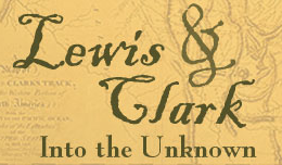 Lewis & Clark Into the Unknown Logo
