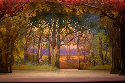 O Wing And Drop Scenery Stages Through The Ages Us Theatre