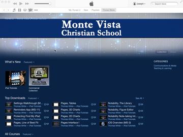 MVCS iTunes U Course