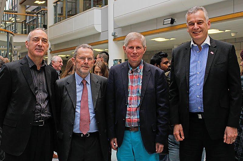 Peter Schofield, David Airey, John Heeley and Scott Tayloer