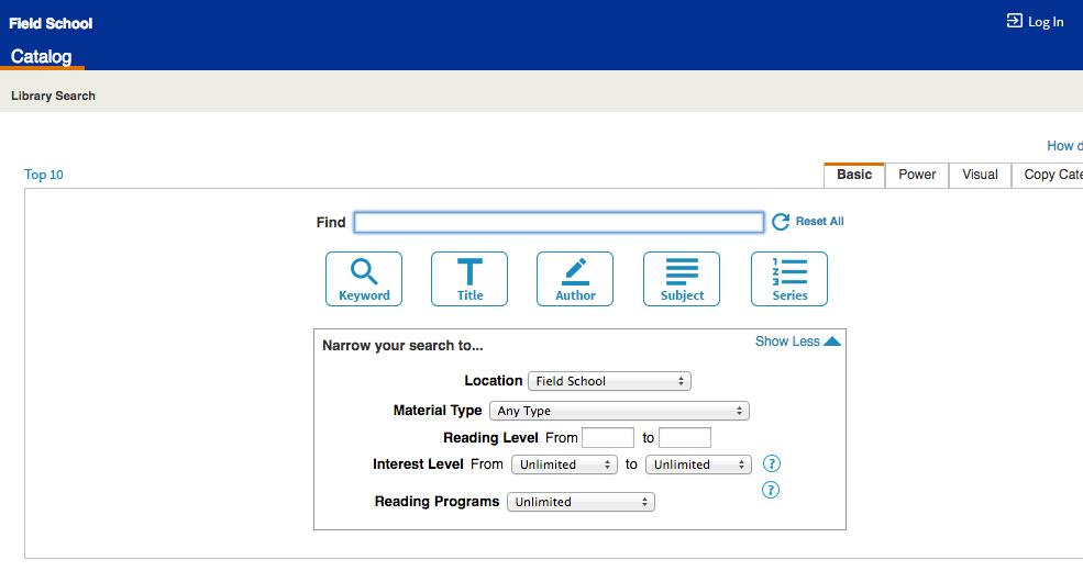 http://lib.weston.org/cataloging/servlet/presentadvancedsearchredirectorform.do?l2m=Library%20Search&tm=TopLevelCatalog&l2m=Library+Search