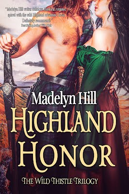 #CoverReveal - Highland Honor by Madelyn Hill