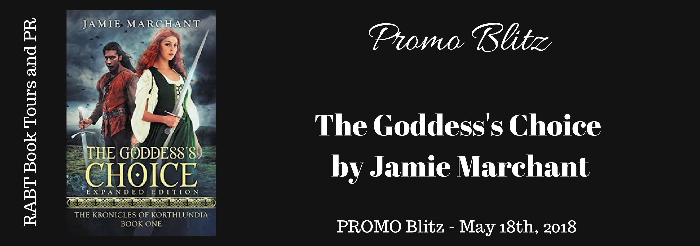 #Blitz - The Goddess's Choice by Jamie Marchant