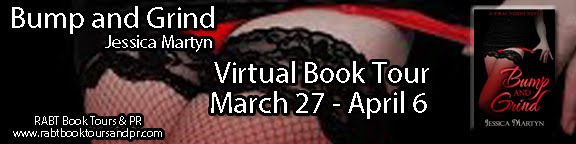 Jessica Martyn - Bump and Grind - Virtual Book Tour - 2018 Tours