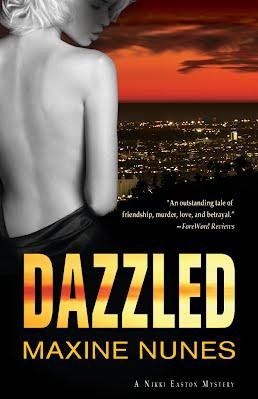 dazzled maxine nunes book cover