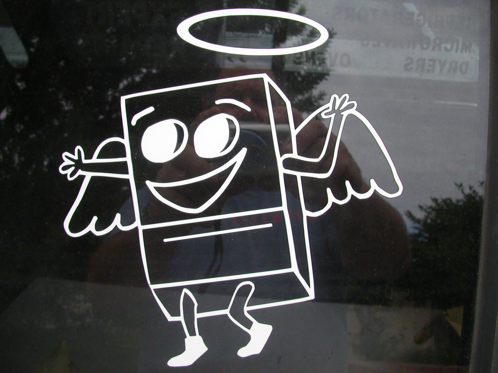 This is an appliance Angel. Pretty much a good mood I'd say.