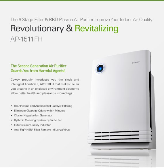 Coway Lombok Revolutionary & Revitalizing Air Purifier