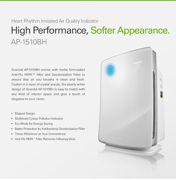 Coway Scandal Air Purifier